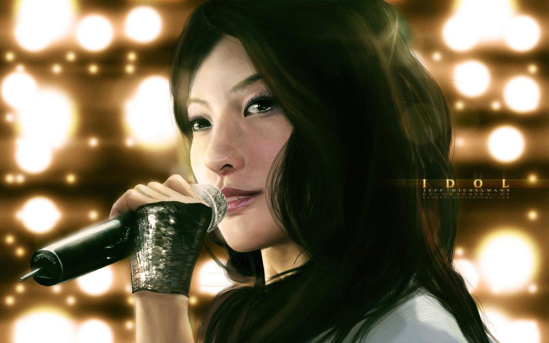 30. Best Wallpaper Art Painting | Beautiful Asian Idol