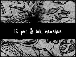 Pen and Ink Brushes