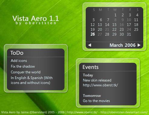 Vista Aero 1.1 by oberststen