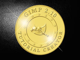How to create a Gold Coin in Gimp 2.10