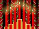 Create Christmas Candles and Curtains with Gimp 2.