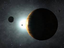 Tutorial - Create a Beautiful Space scene with jus