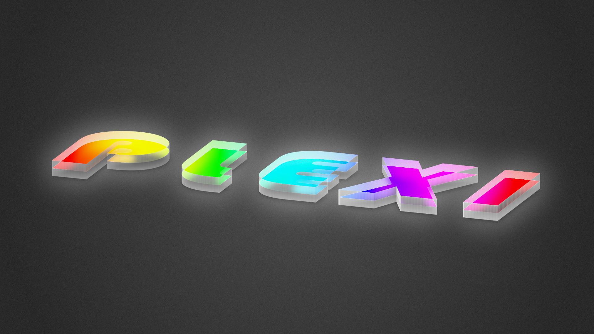 Plexiglass text GIMP 2.10 tutorial