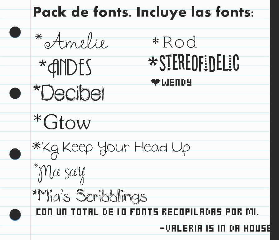 Download Pack de 10 fonts Para: Photoscape/Photoshop/Etc. by ...