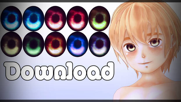 Eyes textures pack#2 DL