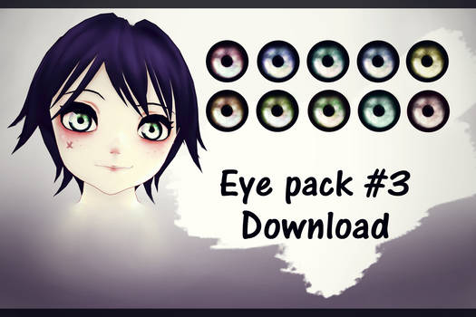 Eyes textures pack#3