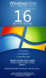 Windows Vista Wallpaper Pack by tinkupuri