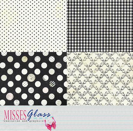 Black 'n White - Scrapbook S19 by Missesglass