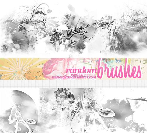 Random Brushes - 1003 by Missesglass
