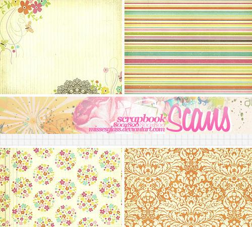 4 Scrapbook scans - 2103 by Missesglass