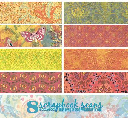 8 Scrapbook scans - 1310 by Missesglass