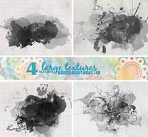 4 Watercolor textures - 1711