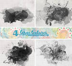 4 Watercolor textures - 1711