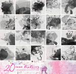20 Watercolor icon textures