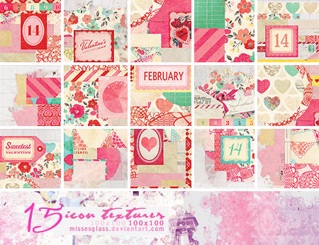 Valentine icon textures - 2101 by Missesglass