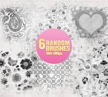Random Brushes - 0303 by Missesglass