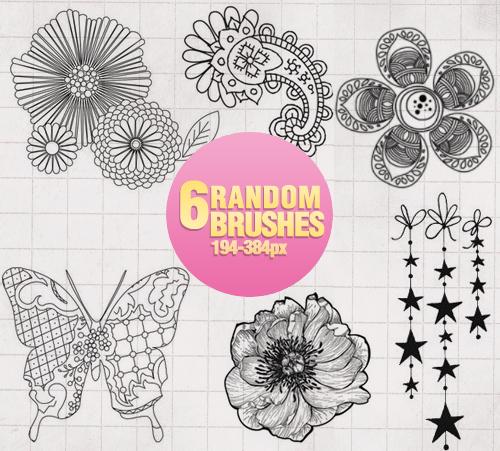 Random Brushes - 0104