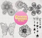 Random Brushes - 0104 by Missesglass