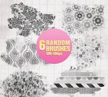 Random Brushes - 0205 by Missesglass