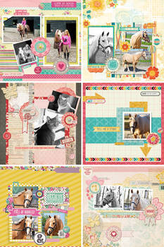 Scrap layouts + PSDS volume 1