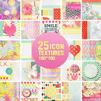 25 Icon Textures - 2107 by Missesglass