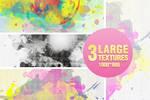 3 Watercolor textures - 2104