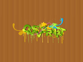 CleverART Text .psd File by daWIIZ
