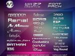 Wiiz7 Creative Font Pack #1