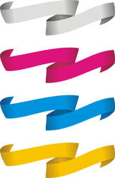 Ribbon Vector by lagartoi