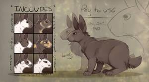 [P2U] rabbit base