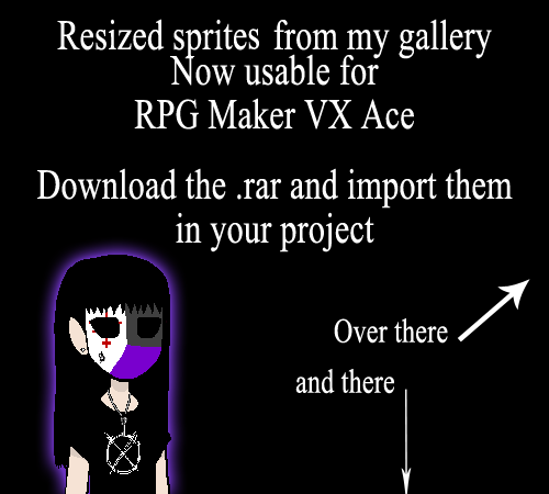 resized creepypasta sprites for rpg maker vx ace by lagoon sadnes on