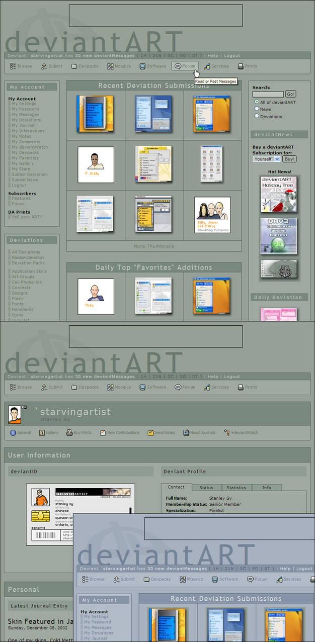 deviantART - Minimal 2 by starvingartist