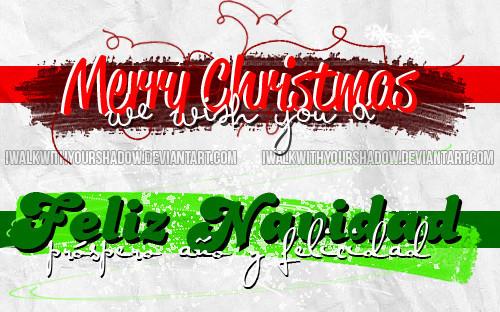 Christmas PNGs by iwalkwithyourshadow