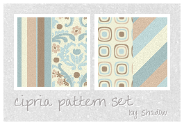 cipria pattern set by FloatingShadow