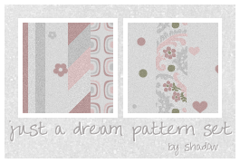 just a dream pattern set by FloatingShadow
