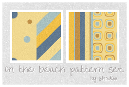 on the beach pattern set by FloatingShadow