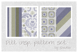 Pitt inspiration pattern set by FloatingShadow