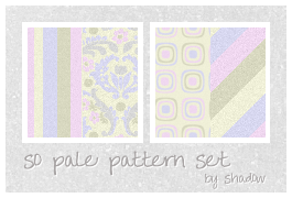 so pale pattern set by FloatingShadow