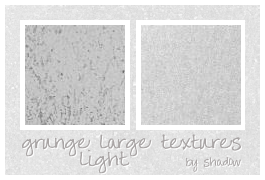 light grunge textures by FloatingShadow