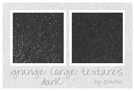 dark grunge textures by FloatingShadow