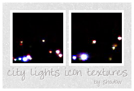 city lights icon textures by FloatingShadow