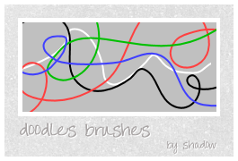 doodles brushes by FloatingShadow