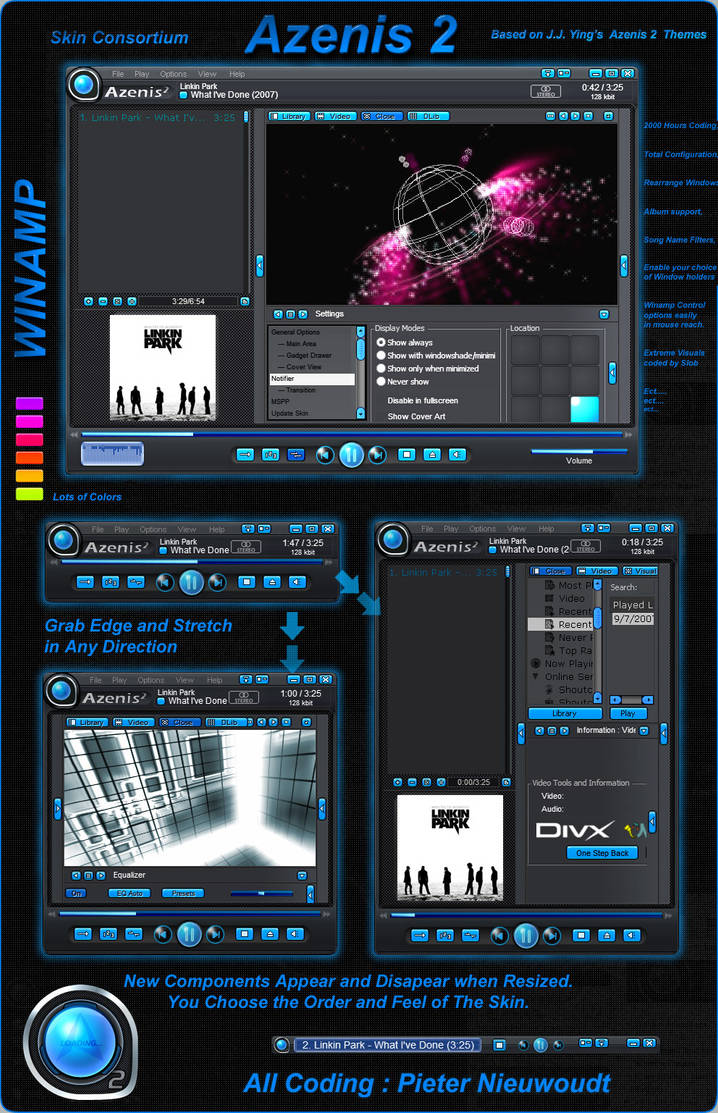 Best skins for winamp download free