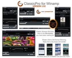 Winamp ClassicPro version 1.02