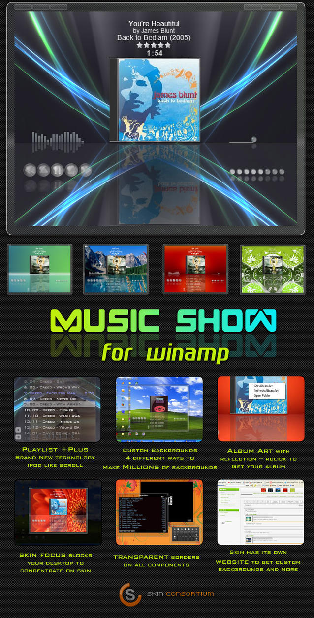 Music Show by Skin-Consortium