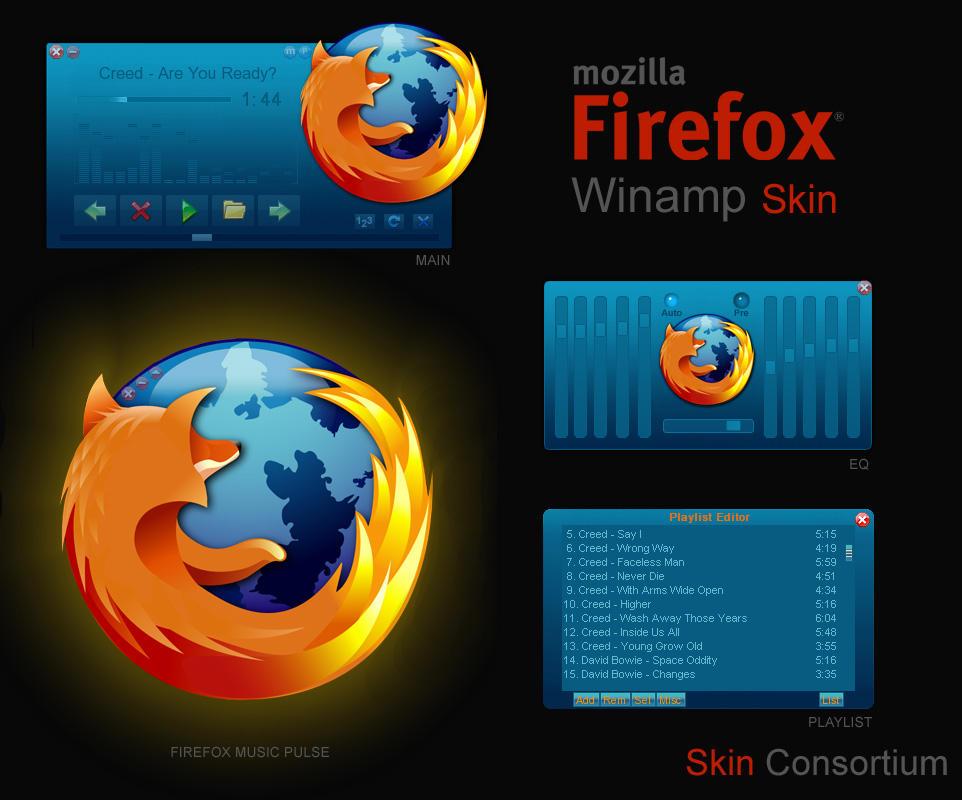 Firefox Winamp by Skin-Consortium