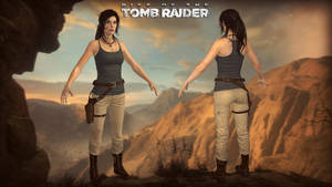 HD ROTTR Syria Tank Top by Lerova