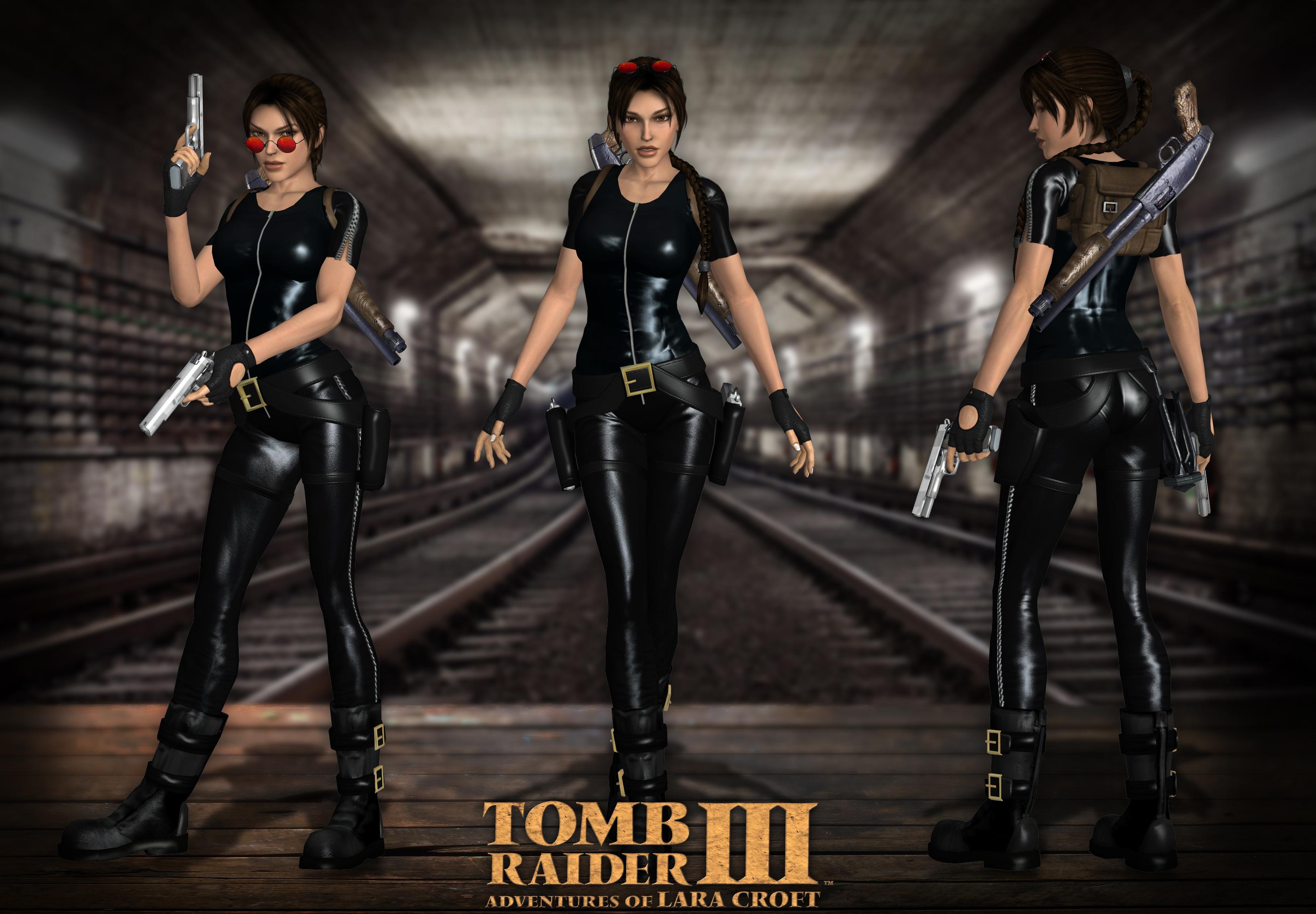 Lara Croft TRIII London Catsuit by Lerova by Lerova on ...
