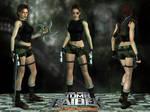 Lara Croft TRAOD Urban Short Outfit by Lerova