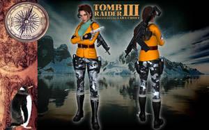 Lara Croft TRIII Antarctica Outfit by Lerova